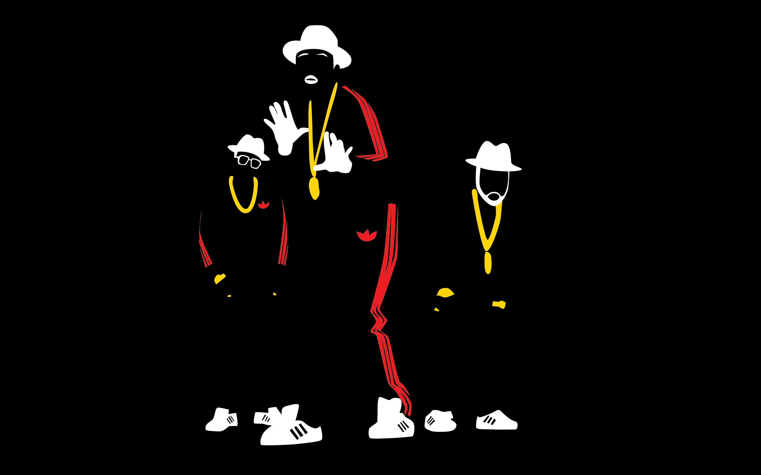 Read more about the article Run-DMC: Rock'ın çukulata kralları, Rap'in haysiyetli grubu, yeniden!