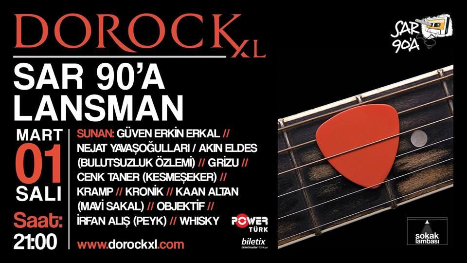You are currently viewing Sar Doksana lansman'ı Dorock XL'da