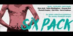 Genç sanatçılar rahatsız! Six Pack sergisi, vasatlığa meydan okuyor