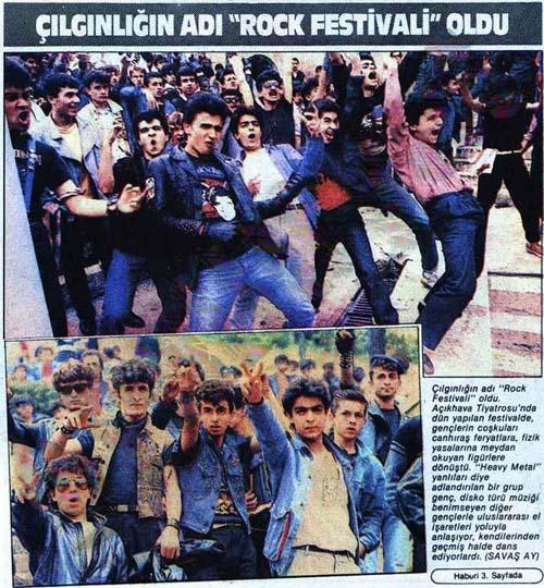 Read more about the article Yerli-Rock tarihimizde 37 sene önce bugün: 1984'te Açıkhava'yı kim yıktı?