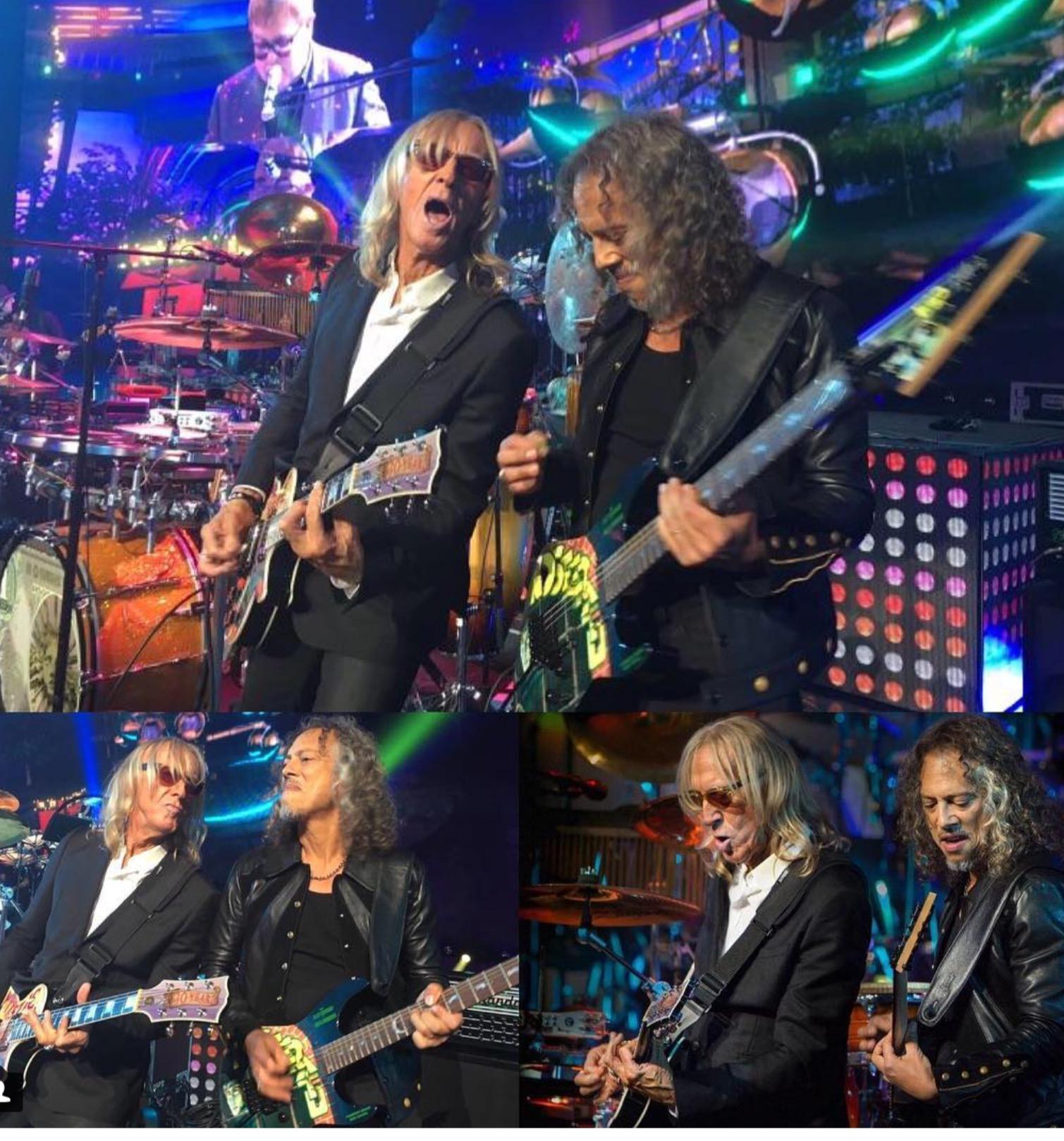 You are currently viewing Kirk Hammett'tan Elton John'a Hürmet