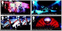 İngiliz Kraliyet Posta Servisi'nden Pink Floyd Pulları