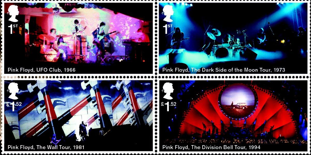 You are currently viewing İngiliz Kraliyet Posta Servisi'nden Pink Floyd Pulları