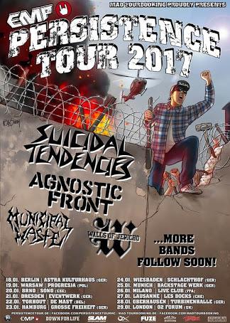 You are currently viewing Suicidal, Agnostic, Municipal ve daha niceleri; Persistence Tour