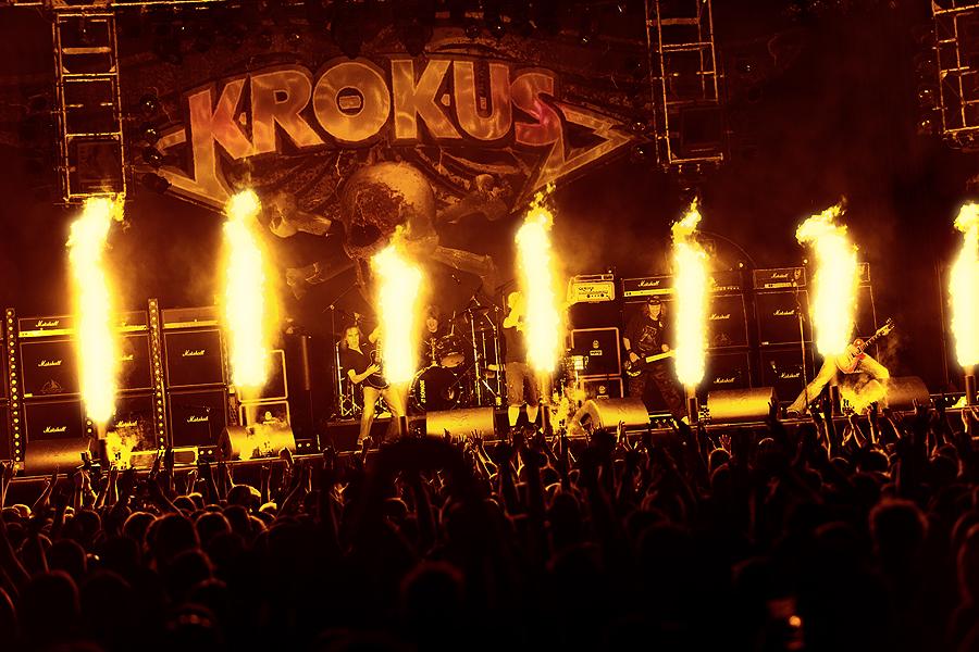 You are currently viewing Krokus metal alemine meydan okudu: Göt-kılı karşıtı bir plak geliyor