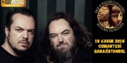 "Heavy Metale etnik tat katan ""Sepultura biraderler"" İstanbul'da"