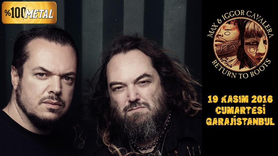 "You are currently viewing Heavy Metale etnik tat katan ""Sepultura biraderler"" İstanbul'da"
