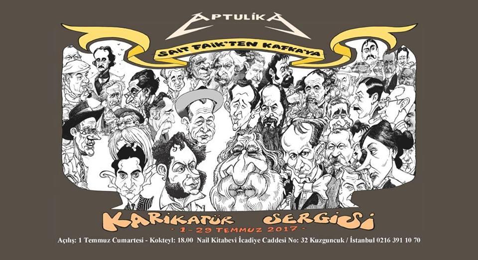 You are currently viewing Yazar & Çizer Aptülika sergisini kaçırmayın; son gün 29 Temmuz