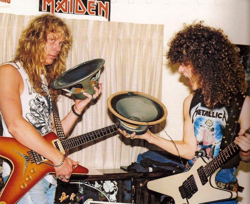 You are currently viewing James Hetfield ile Dimebag Darrell'in bodrum katta Metallica keyfi