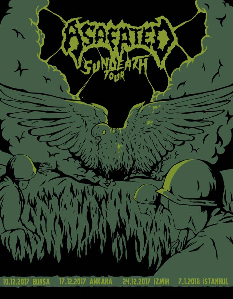 You are currently viewing Eski Okul Death Metal üstatları Asafated Türkiye'yi turluyor