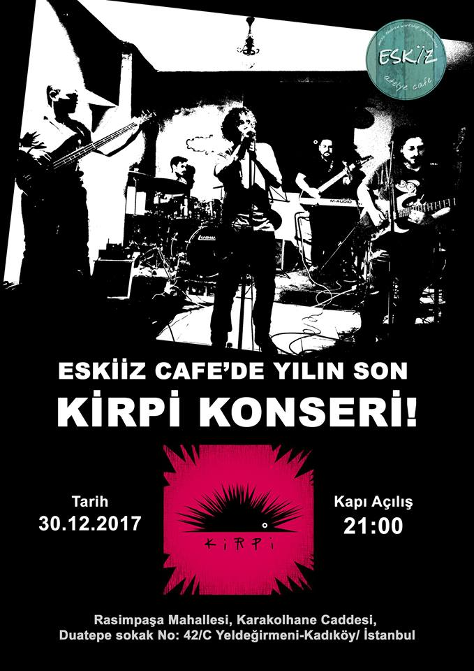 You are currently viewing Kirpi ile tanıştınız mı? Tanışmadıysanız yılın son konserinde tanışın, kaynaşın