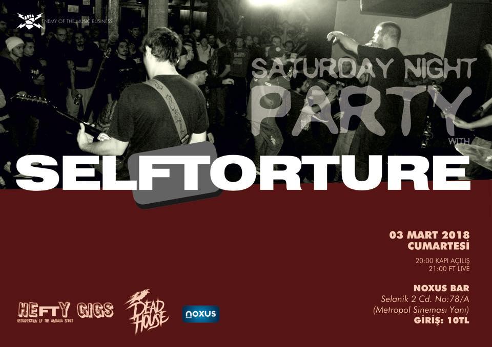 You are currently viewing Ankara metalcisi, Mustafa Kemal'in yoldaşı: SelfTorture; dimdik ayakta