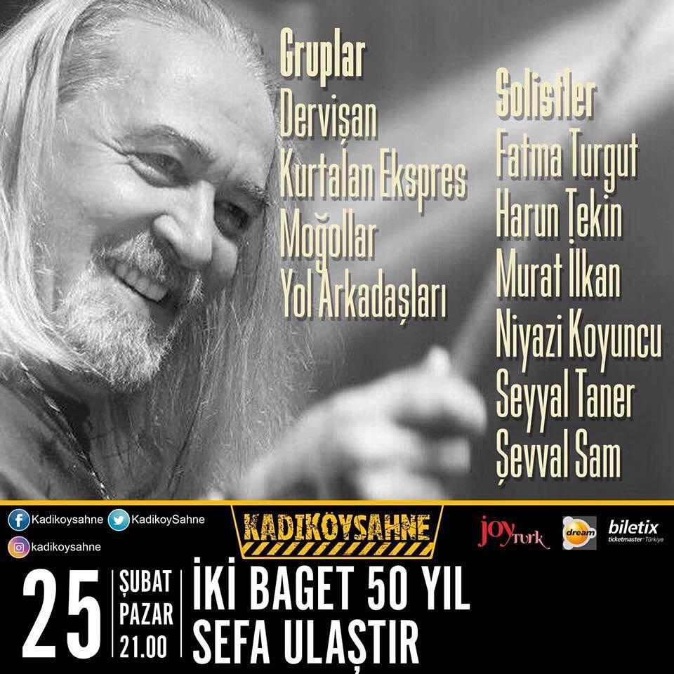 You are currently viewing Cem Karaca ve Barış Manço'nun davulcusu 50. sanat yılını kutladı