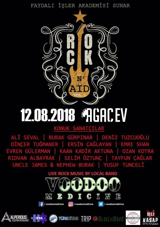 You are currently viewing Rockçılar, öğrenciler için Ağaç Ev'de buluşuyor