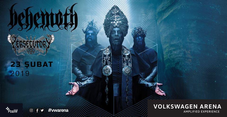 """Read more about the article Black Metal'in """"Sanatçıları"""" Behemoth, 23 Şubat'ta İstanbul'da, özel röportajımız Deli TV'de"""