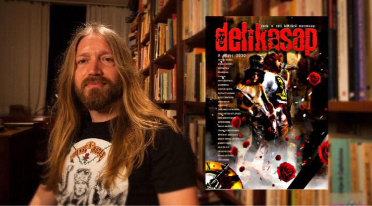 You are currently viewing DeliKasap Dergi'nin 19. Yıl sayısının kapağını Guns N' Roses süsledi