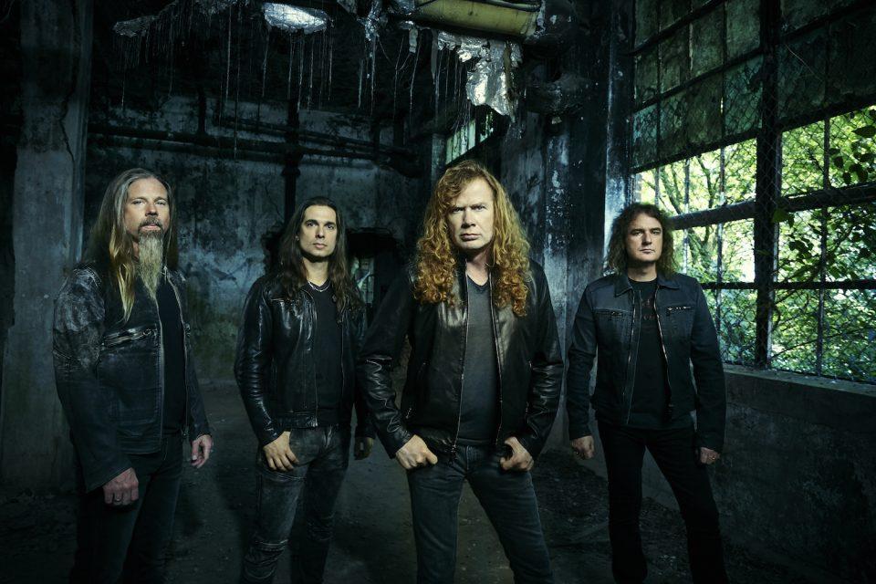 You are currently viewing Megadeth'in 2020 Avrupa Turnesi Başladı