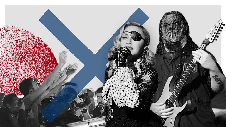 Read more about the article Rock, pop, metal ve sanat camiasını vuran melun Corona illeti pervasızca yayılıyor