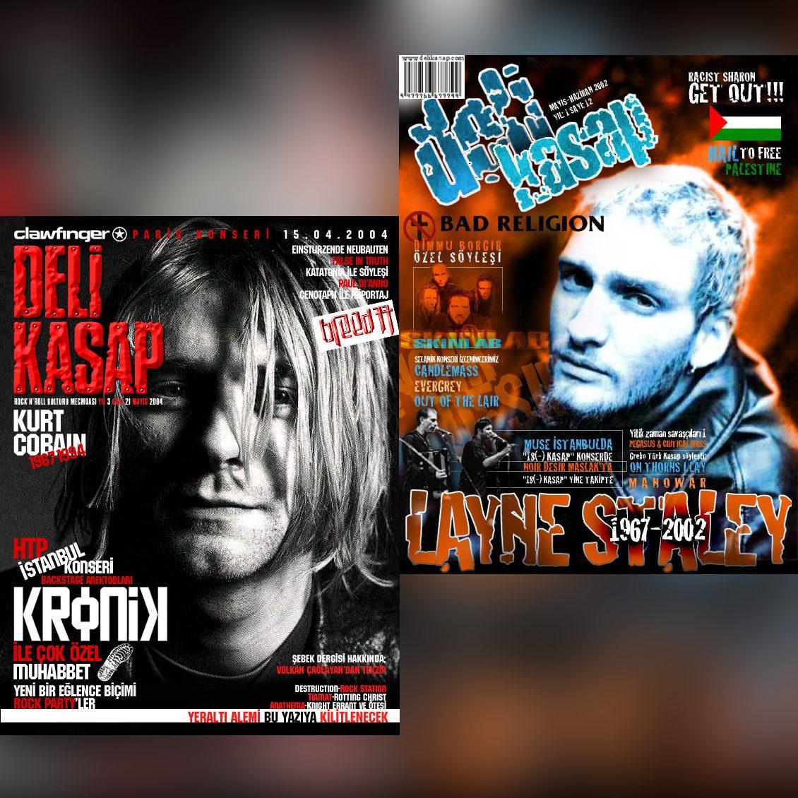 Read more about the article Seattle'ın Rock Efendilerini Anıyoruz: Kurt Cobain&LayneStaley
