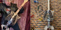 CANNIBAL CORPSE BU HAREKETİ BEĞENDİ! Amcasının ölüsünden gitar yaptı