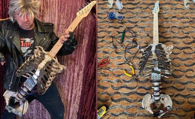 Read more about the article CANNIBAL CORPSE BU HAREKETİ BEĞENDİ! Amcasının ölüsünden gitar yaptı