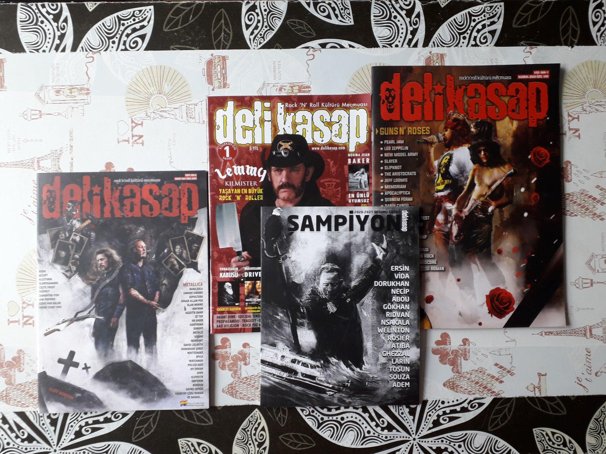 Read more about the article Metalciler Futbol Edebiyatı Dergisi Yayınladı: Şampiyon Dergi Çıktı